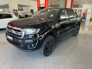 2020 Ford Ranger PX MkIII 2020.75MY XLT Black 10 Speed Sports Automatic Double Cab Pick Up.