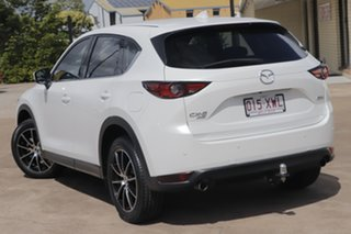 2017 Mazda CX-5 KF4WLA GT SKYACTIV-Drive i-ACTIV AWD Snowflake White 6 Speed Sports Automatic Wagon.