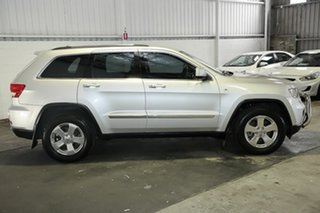 2012 Jeep Grand Cherokee WK MY2013 Laredo Silver 5 Speed Sports Automatic Wagon