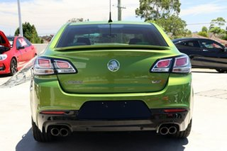 2015 Holden Commodore VF II MY16 SS V Jungle Green 6 Speed Sports Automatic Sedan