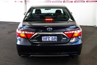 2015 Toyota Camry AVV50R Atara S Indigo 1 Speed Constant Variable Sedan Hybrid