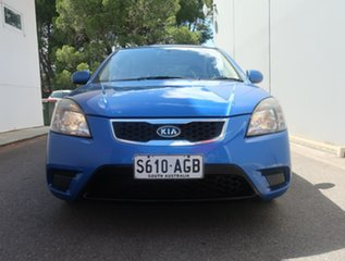 2009 Kia Rio JB MY07 EX Blue 4 Speed Automatic Hatchback.