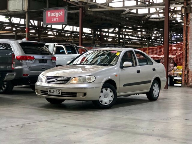 Used Nissan Pulsar N16 S2 ST Mile End South, 2004 Nissan Pulsar N16 S2 ST Gold 4 Speed Automatic Sedan