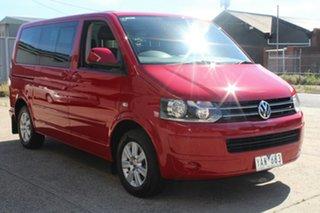 2010 Volkswagen Multivan T5 MY10 103 TDI Comfortline 7 Speed Auto Direct Shift Wagon.