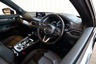 2018 Mazda CX-5 KF4WLA Akera SKYACTIV-Drive i-ACTIV AWD Black 6 Speed Sports Automatic Wagon