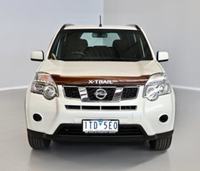 2012 Nissan X-Trail T31 Series V ST 2WD White 1 Speed Constant Variable Wagon.