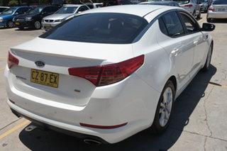 2012 Kia Optima TF MY12 SI White 6 Speed Sports Automatic Sedan