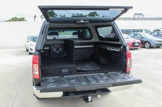 2012 Nissan Navara D40 S5 MY12 ST-X 550 Black 7 Speed Sports Automatic Utility.