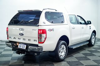 2015 Ford Ranger PX MkII XLT Double Cab White 6 Speed Manual Utility