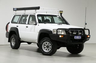 2009 Nissan Patrol GU VI DX (4x4) White 4 Speed Automatic Wagon.