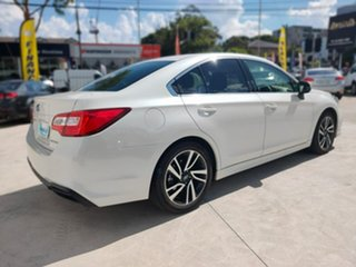 2019 Subaru Liberty 2.5I White Constant Variable Sedan