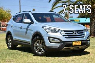 2013 Hyundai Santa Fe DM MY13 Active Blue 6 Speed Sports Automatic Wagon.