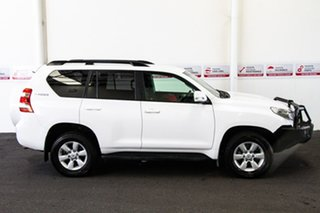 2017 Toyota Landcruiser Prado GDJ150R GXL Glacier White 6 Speed Sports Automatic Wagon