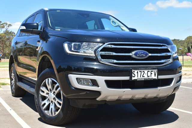 Used Ford Everest UA II 2020.25MY Trend St Marys, 2020 Ford Everest UA II 2020.25MY Trend Black 6 Speed Sports Automatic SUV