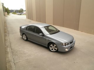 2007 Ford Falcon BF Mk II XR6 Silk 4 Speed Sports Automatic Sedan