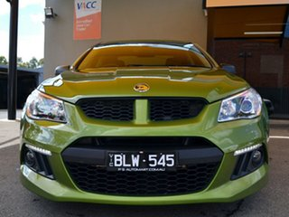 2015 Holden Special Vehicles ClubSport Gen-F MY15 R8 Green 6 Speed Sports Automatic Sedan