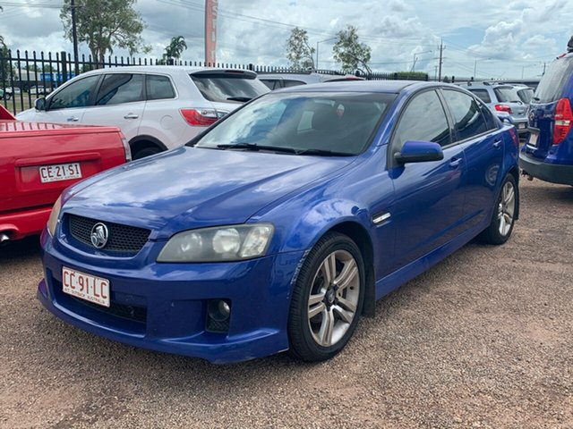Used Holden Commodore VE SV6 Berrimah, 2007 Holden Commodore VE SV6 Blue 6 Speed Manual Sedan
