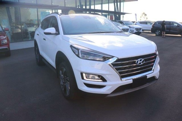 New Hyundai Tucson TL3 MY21 Highlander D-CT AWD Augustine Heights, 2020 Hyundai Tucson TL3 MY21 Highlander D-CT AWD White Pearl 7 Speed Sports Automatic Dual Clutch