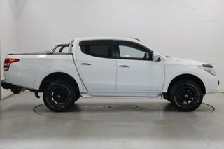 2017 Mitsubishi Triton MQ MY17 GLS Double Cab White 5 Speed Sports Automatic Utility