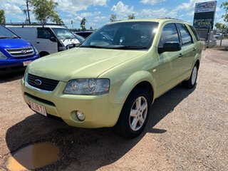 2005 Ford Territory SX TS Green 4 Speed Sports Automatic Wagon.
