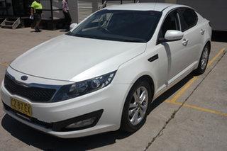 2012 Kia Optima TF MY12 SI White 6 Speed Sports Automatic Sedan.