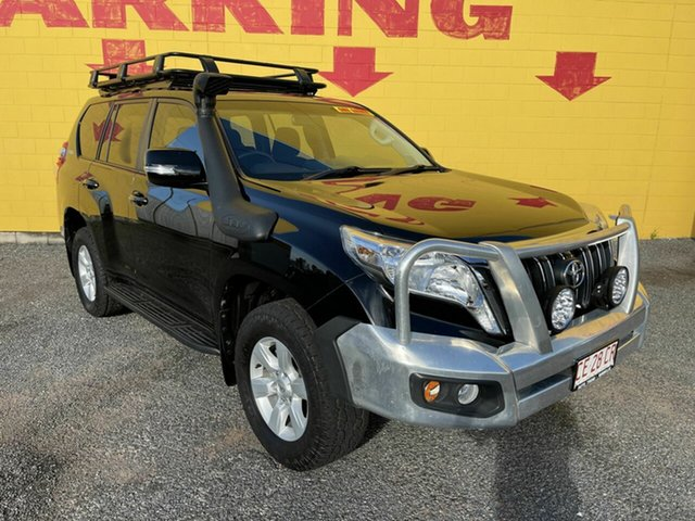Used Toyota Landcruiser Prado GDJ150R GXL Winnellie, 2015 Toyota Landcruiser Prado GDJ150R GXL Black 6 Speed Sports Automatic Wagon