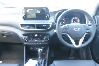 2020 Hyundai Tucson TL3 MY21 Elite D-CT AWD Pure White 7 Speed Sports Automatic Dual Clutch Wagon
