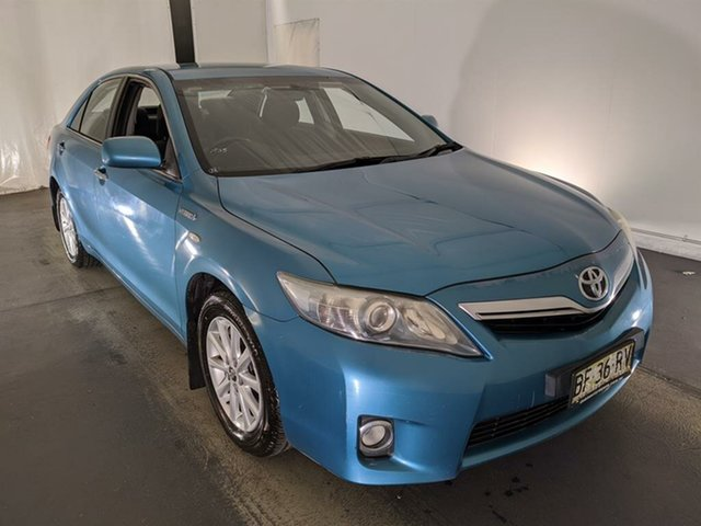 Used Toyota Camry AHV40R MY10 Hybrid Maryville, 2010 Toyota Camry AHV40R MY10 Hybrid Blue 1 Speed Constant Variable Sedan Hybrid