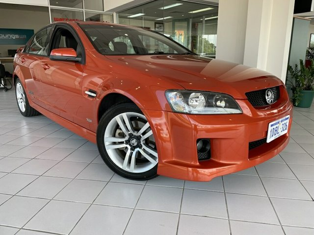 Used Holden Commodore VE MY09.5 SS Victoria Park, 2008 Holden Commodore VE MY09.5 SS Orange 6 Speed Automatic Sedan
