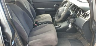 2008 Nissan Tiida C11 MY07 ST-L Plus Grey 6 Speed Manual Sedan