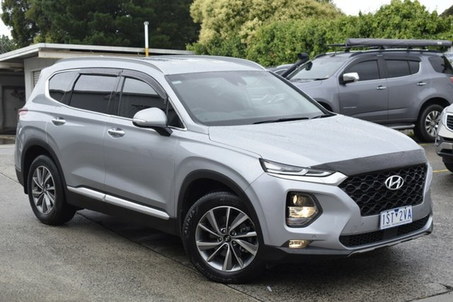Used Hyundai Santa Fe TM MY19 Elite Ferntree Gully, 2018 Hyundai Santa Fe TM MY19 Elite Silver 8 Speed Sports Automatic Wagon