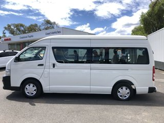 2010 Toyota HiAce TRH223R MY11 Upgrade Commuter French Vanilla 4 Speed Automatic Bus