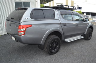 2016 Mitsubishi Triton MQ MY16 GLX Double Cab Titanium 5 Speed Sports Automatic Utility