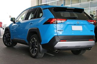 2020 Toyota RAV4 Axaa54R Edge AWD Eclectic Blue 8 Speed Sports Automatic Wagon.