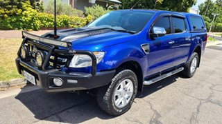 2014 Ford Ranger PX XLT 3.2 (4x4) 6 Speed Manual Dual Cab Utility.