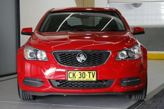 2016 Holden Commodore VF II Evoke Red 6 Speed Automatic Sportswagon