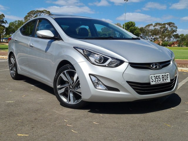 Used Hyundai Elantra MD3 Premium Nailsworth, 2014 Hyundai Elantra MD3 Premium Silver 6 Speed Sports Automatic Sedan