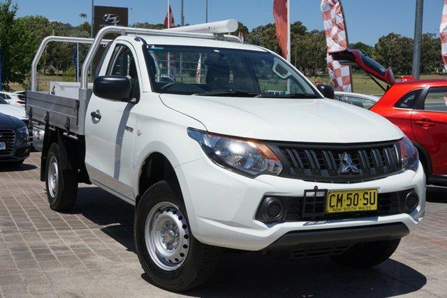 Used Mitsubishi Triton MQ MY17 GLX 4x2 Phillip, 2016 Mitsubishi Triton MQ MY17 GLX 4x2 White 5 Speed Manual Cab Chassis