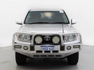 2013 Toyota Landcruiser VDJ200R MY12 GXL (4x4) Silver 6 Speed Automatic Wagon.