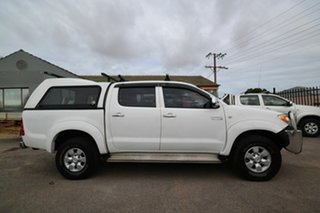 2007 Toyota Hilux KUN26R 06 Upgrade SR5 (4x4) White 4 Speed Automatic Dual Cab Pick-up