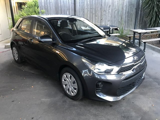 Used Kia Rio YB MY18 S Mount Gravatt, 2018 Kia Rio YB MY18 S Grey 4 Speed Sports Automatic Hatchback