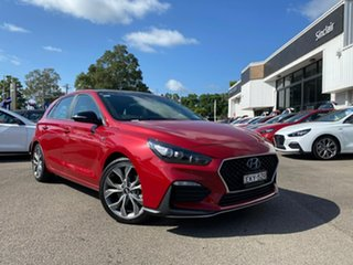 2020 Hyundai i30 PD.V4 MY21 N Line D-CT Premium Fiery Red 7 Speed Sports Automatic Dual Clutch.