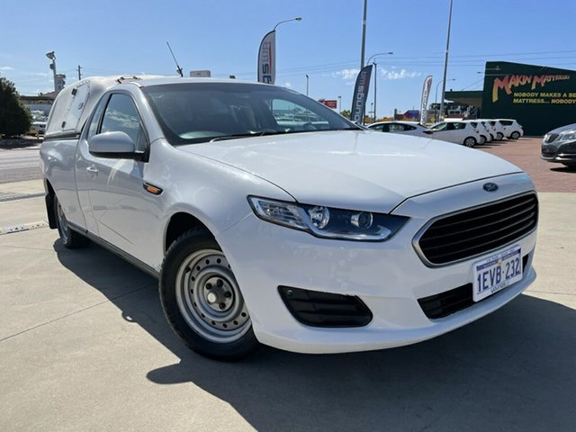 Used Ford Falcon FG X Victoria Park, 2015 Ford Falcon FG X White 6 Speed Auto Seq Sportshift Utility