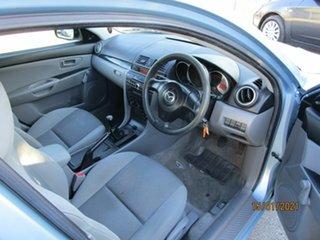 2006 Mazda 3 BK MY06 Upgrade Neo Blue 5 Speed Manual Sedan.