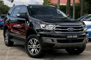 2019 Ford Everest UA II MY19 Trend (4WD 7 Seat) Black 10 Speed Auto Seq Sportshift SUV.