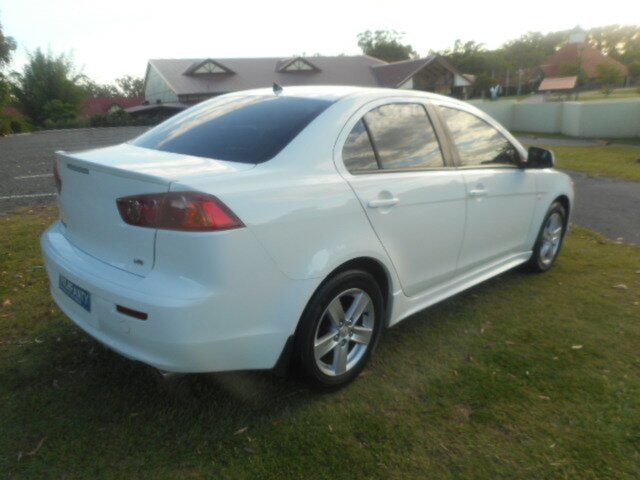 Used Mitsubishi Lancer CJ MY09 ES Southport, 2009 Mitsubishi Lancer CJ MY09 ES 6 Speed CVT Auto Sequential Sedan