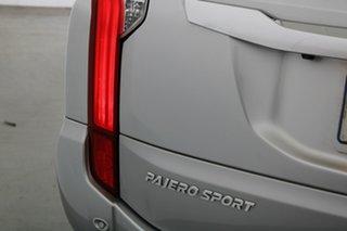 2016 Mitsubishi Pajero Sport QE MY16 GLX Sterling Silver 8 Speed Sports Automatic Wagon