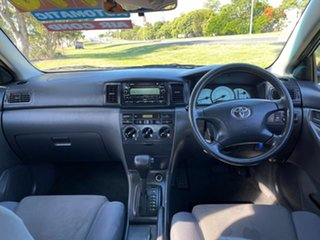 2004 Toyota Corolla ZZE122R 5Y Ascent Blue 4 Speed Automatic Sedan