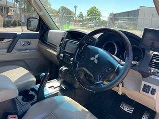 2009 Mitsubishi Pajero NT Exceed LWB (4x4) Grey 5 Speed Auto Sports Mode Wagon