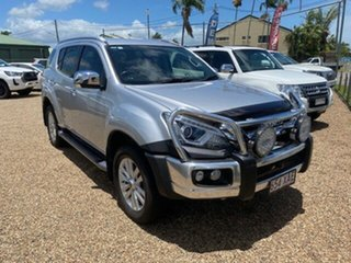 2017 Isuzu MU-X MY17 LS-T Rev-Tronic Silver 6 Speed Sports Automatic Wagon.